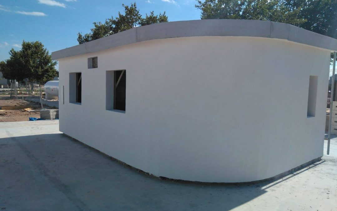 Expansion: The first house made with 3D printing is built in Valencia