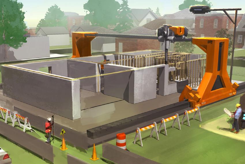 WILL 3D PRINT REVOLUTION BUILDING?
